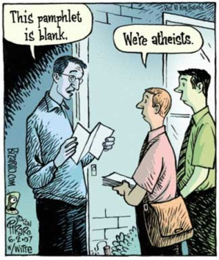 Atheists Proselytizing