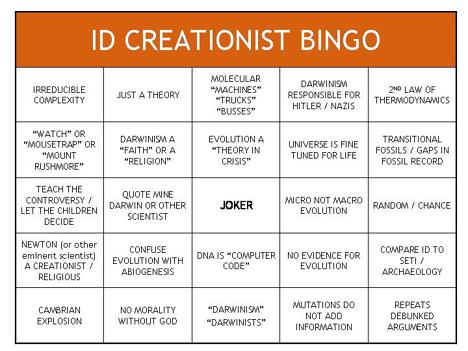 Skeptico Bingo