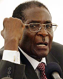 Zimbawe President Robert Mugabe said he would share power, but this appears to be less than true.