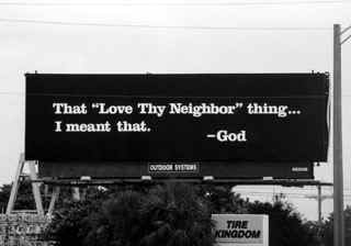 God billboards