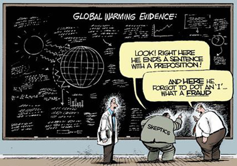 Why are global warming alarmists so slow to learn the facts?