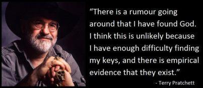 Terry Pratchett Making Sense Open Parachute