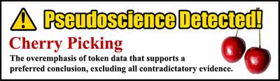 pseudoscience-cherry-picking