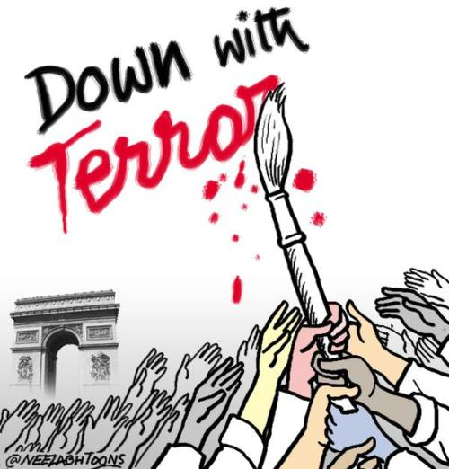 down with terror