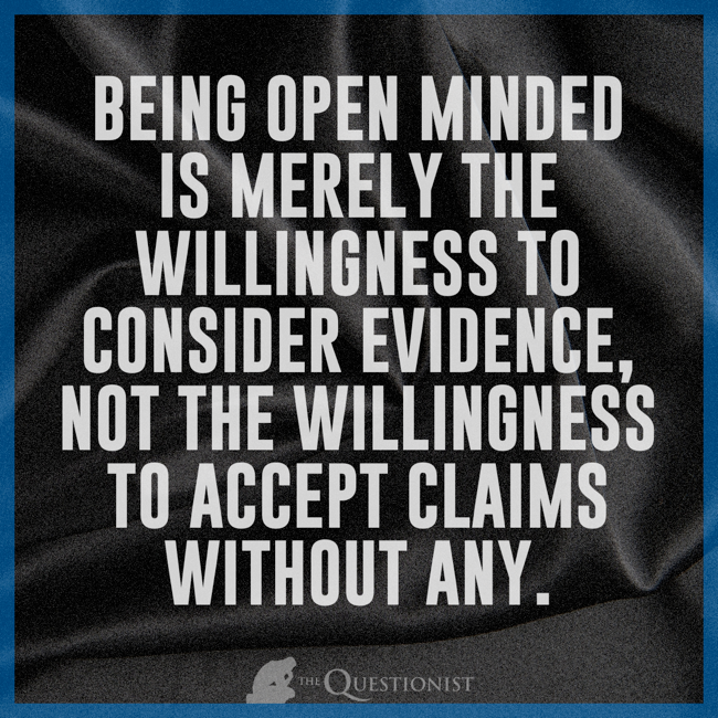 Being Open Minded Open Parachute