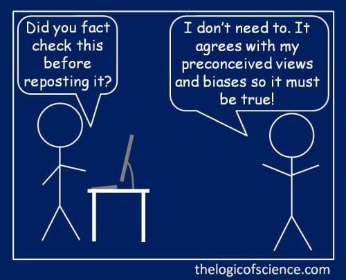 Comfirm bias