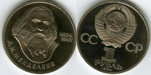 Mendeleev-ruble