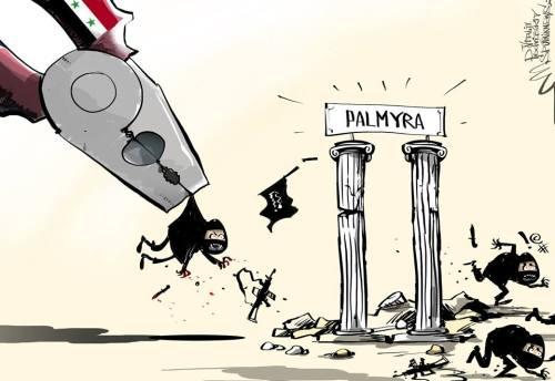 Palmyra liberation
