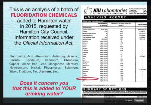 Fluoridation The Truth About Heavy Metal Contamination Open Parachute